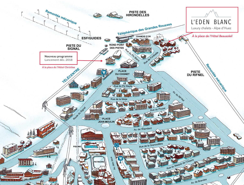 Achat Neuf Alpe d\'Huez - L\'EDEN BLANC – Luxury Chalets